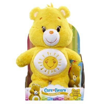 Care Bears Funshine Bear Plush (Medium 30cm)