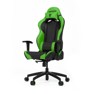 Vertagear Racing Series S-Line SL2000 Rev. 2 Gaming Chair - Black / Green Edition
