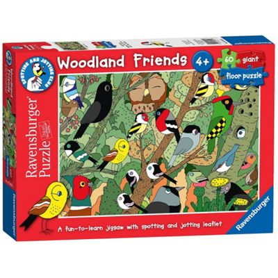Woodland Friends - Giant Floor Puzzle - 60pc