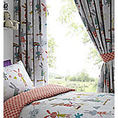 Puddle Pals, Rabbits Curtains 54s