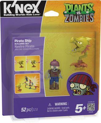 K'nex Plants Vs. Zombies Pirate Ship Building Set
