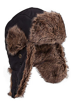Mountain Warehouse Furry Hat - Black