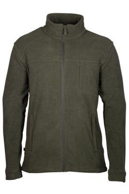 Rourke Full Zip Heavyweight Thick Quick Dry Zipped Fleece Top Jacket Coat