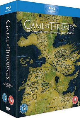 Game Of Thrones Season 1-3 Bd