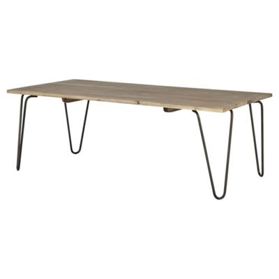 Buy Wallace Pin Leg Coffee Table From Our Coffee Tables Range Tesco - Coffee table no legs