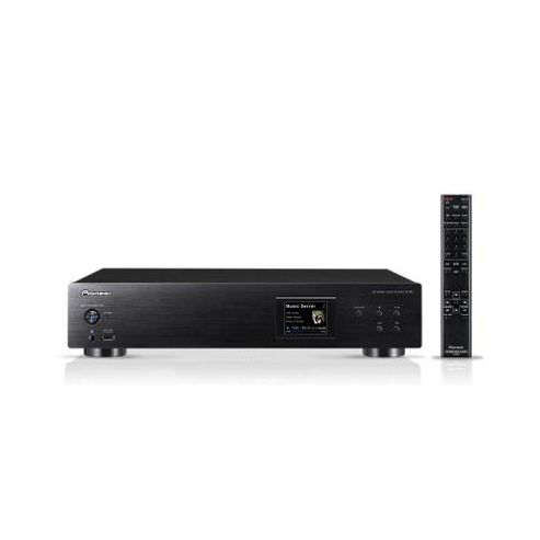 Network Audio Player with Front USB Port in Black