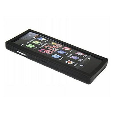 iTALKonline Silicone Case Black - For  LG BL40 Chocolate
