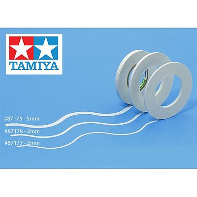 TAMIYA 87177 Masking Tape For Curves 2mm - Tools / Accessories