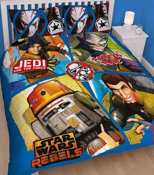 Star Wars Rebels Double Duvet - Tag