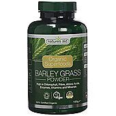 Natures Aid Organic Barley Grass Powder - 100g