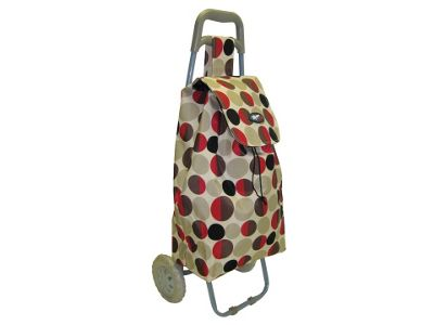 Marketeer Toggle Shop Trolley Floral/Dot