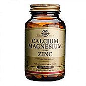 Solgar Calcium Magnesium plus Zinc Tablets 100