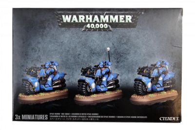 Warhammer Space Marine Bike Squad Model Kit