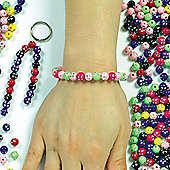 Children's Crafts Sparkle Beads - Pack Of 250