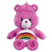 Care Bears Medium Soft Toy with DVD - Cheer Bear