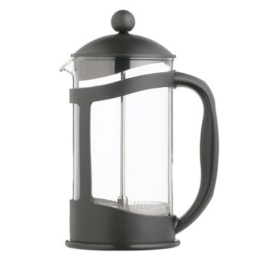 KitchenCraft 3 Cup Coffee Cafetiere - Black