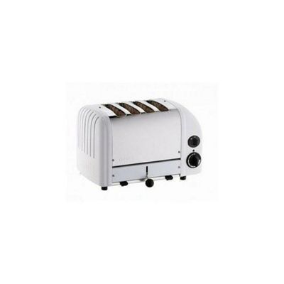 Dualit 4 Slot Combi Vario Toaster - White