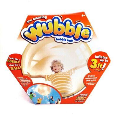 The Amazing Wubble Bubble Ball Orange