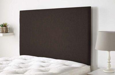 Aspire Furniture Derwent Headboard in Malham Weave Fabric - Brown - Single 3ft