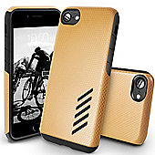 Orzly iPhone 7, iPhone 8 Grip-Pro Case - Champagne Gold