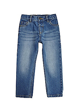 F&F Regular Jeans - Mid wash blue