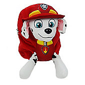 Nickelodeon Paw Patrol Marshall Plush Backpack One Size Red