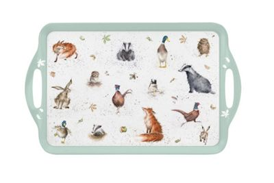 Pimpernel Wrendale Designs The Country Set Large Tray