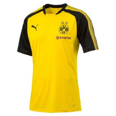 Puma Borussia Dortmund BVB 2017/18 Mens Training Shirt Yellow - XL