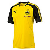 Puma Borussia Dortmund BVB 2017/18 Mens Football Training Jersey Shirt - Yellow