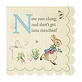 Peter Rabbit Beverage Napkins - 3ply Paper