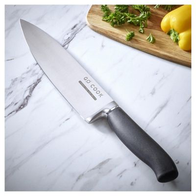 Go Cook Soft Grip Chefs Knife