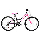 "Concept Angel Girls 18 speed Mountain Bike 24"" Wheel"