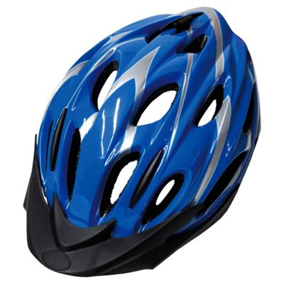 Activequipment Bike Helmet, Blue 54/58cm