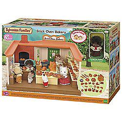 Sylvanian Family Brick Oven Bakery Playset