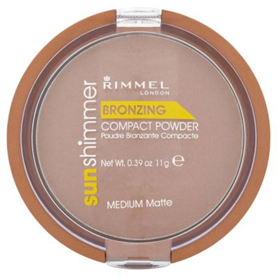 Rimmel Sun Shim Bronzing Powder Medium Matte 11G