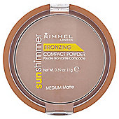 Rimmel Sun Shim Bronzing Powder Medium Matte 11G