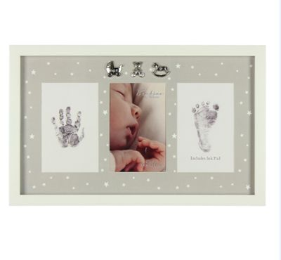 buy baby hand and footprint frame from our other occasions range tesco