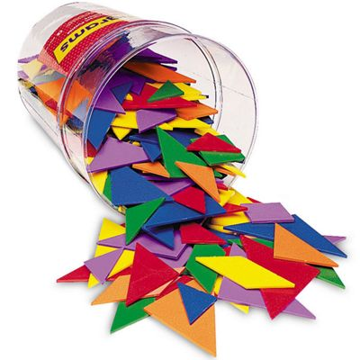 Learning Resources Tangrams Tub of 30