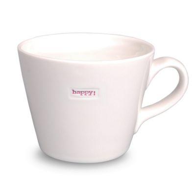 Keith Brymer Jones Word Range Bucket Mug - Happy