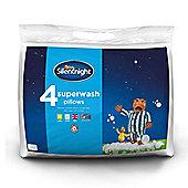 Silentnight Superwash Pillow - 4 Pack