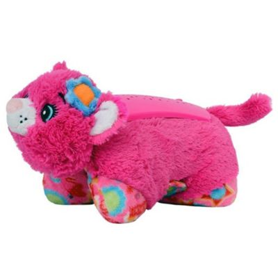 Buy pillow pet dream lites flower power pink cat from our animated pillow pet dream lites flower power pink cat mightylinksfo