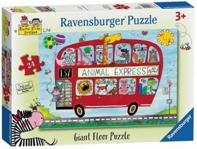 Rachel Ellen - Animal Express - 24pc Puzzle