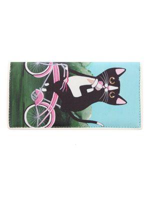 Ashley M Ice Cream Kitty on Bike Purse 19.5x10x4cm