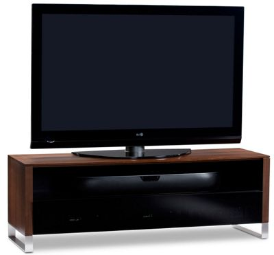 BDI Chocolate Walnut TV Cabinet for up to 70 inch TVs
