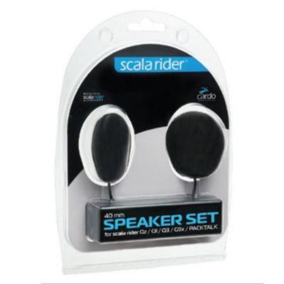 Cardo Scala Rider 40mm Speakers Set│Qz Q1 Q3 G9x G9 SmartPack PackTalk Audio Kit