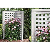 Yardistry Corner Plant Screen - Garden Furniture