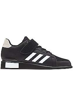 adidas Power Perfect III Mens Adult Weightlifting Powerlifting Shoe Black/White - Black