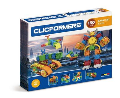Clicformers Basic 150 PCS Set Building and Construction Toy