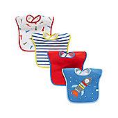 B Baby's Space Bibs - 4 Pack
