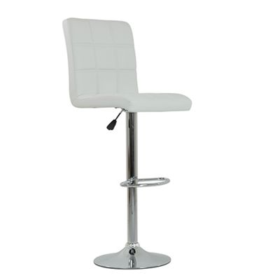 Swatch White Bar Stool